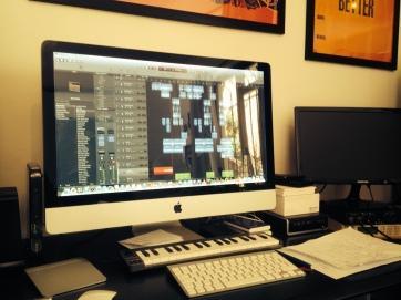 G flat studios, mixing sail away