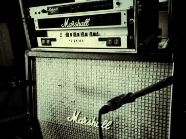 love this amp - my favorite set up