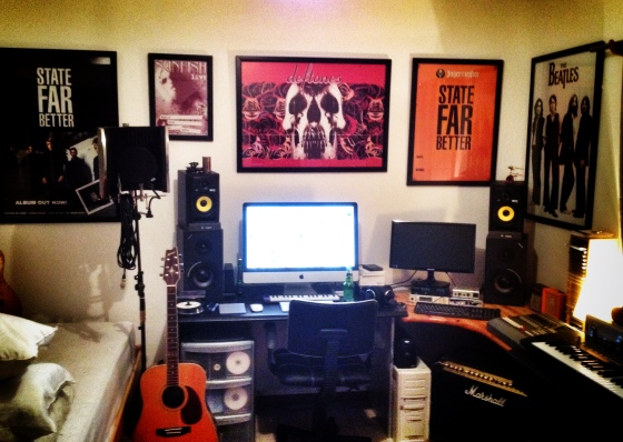 where the magic happens - gflat studios, green point, ct.