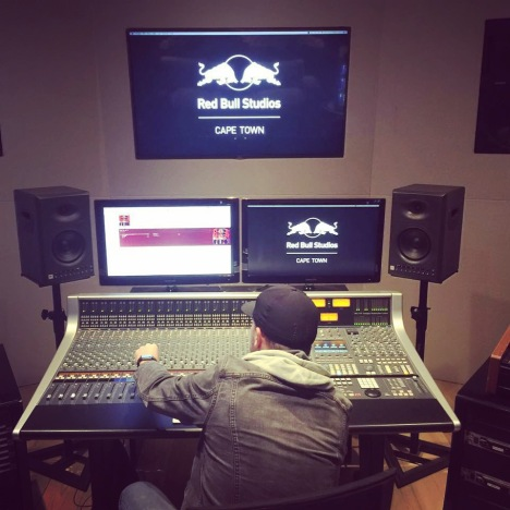 turning knobs at red bull studios ct.