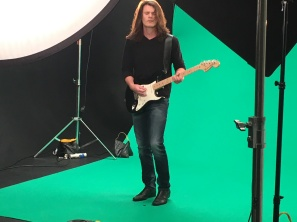 "matthew in the zone - green screen magic for ""it's not forever"""