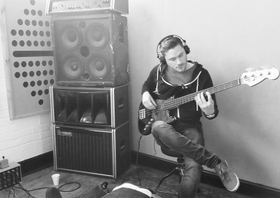 Will laying down bass for Sail Away