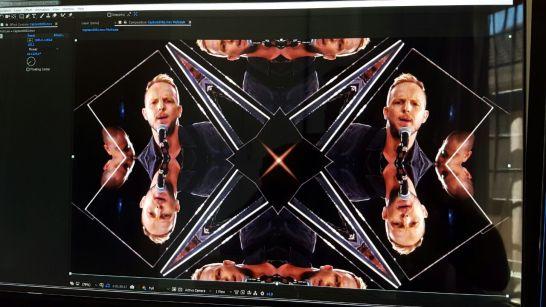 "loedi busy adding some epic kaleidoscope fx to ""sail away"" video"